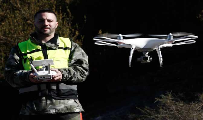 Servicios filmacion aerea  con drones